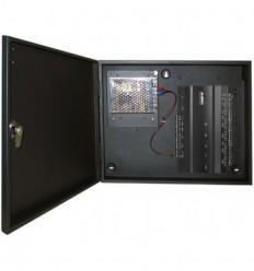 Centrala de control ZKAccess inBio-260, Biometrica IP, 2 usi, 4 cititoare + Cutie cu sursa de alimentare
